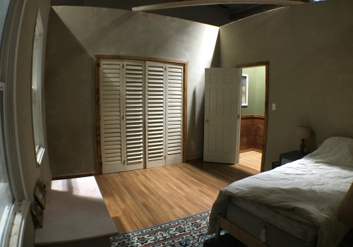 Dual Visions Stages - DV Stages - Film Stage - Los Angeles - 2-Story Standing House Set - Bedroom Set