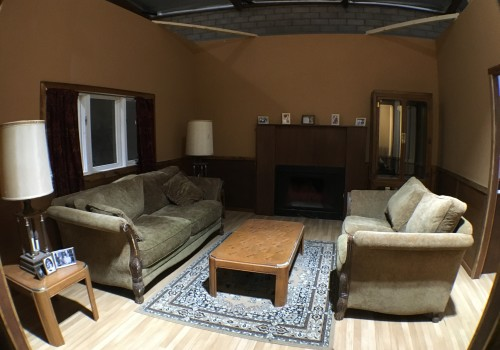 Dual Visions Stages - DV Stages - Film Stage - Los Angeles - 2-Story Standing House Set - Living Room Set